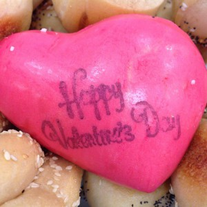 Valentine's Special Bagels